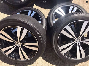 Holden Commodore wheels and tyres ve vf , ( vz*) Carlton Kogarah Area Preview
