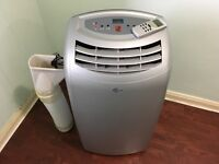 Air Force 12000BTU Portable Air Conditioner/Dehumidifier/Fan/Heater Hose With Remote Control