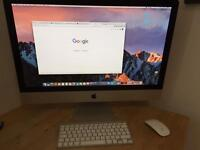 "27"" 2010 iMac for sale (250GB SSD & 16GB RAM)"