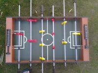Table football, table top game.