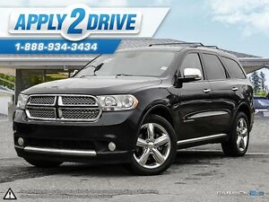 2011 Dodge Durango Citadel Leather Sunroof, Navi 5.7 Hemi Awd
