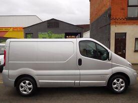 Finance me from £144 a month...Renault Trafic SWB Sport panel van 1 owner sat nav & NO VAT! (26)