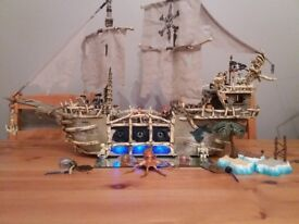 Large megablox pirate ship, great toy or on display