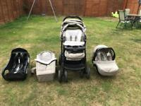 Graco tour deluxe Quattro bear and friends edition