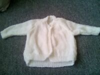 3-6m Hand Knitted Cardigan