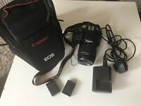 Canon EOS 100D DSLR camera like new with 18-55 lense