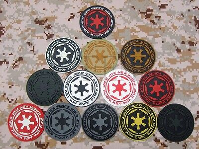 STAR WARS IMPERIAL Galactic Empire Logo Military Morale 3D PVC Patch