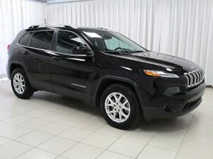 2017 Jeep Cherokee NORTH 4X4 SUV V6 w/ KEYLESS ENTRY, HEATED SEA