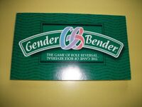 GENDER BENDER BOARD GAME