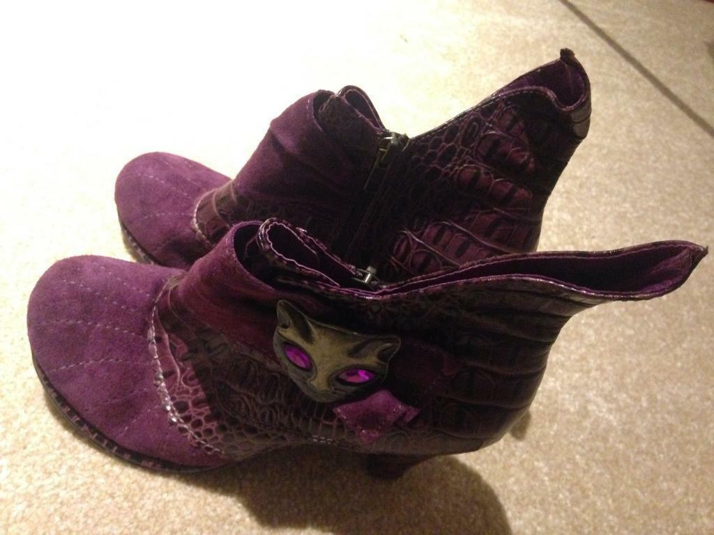 Irregular Choice boots.