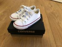 Leather converse size 9