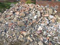 Brick rubble / hardcore