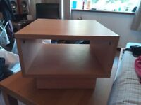 Small TV Table/ Bedside/ Compact, Very Convenient