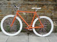 Brand new single speed fixed gear fixie bike/ road bike/ bicycles + 1year warranty & free service jq