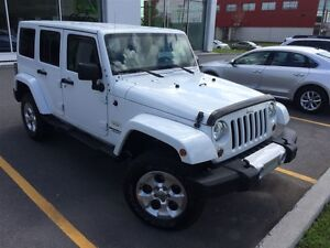2013 Jeep WRANGLER UNLIMITED Sahara, LEATHER, NAV,*WINTER TIRES*