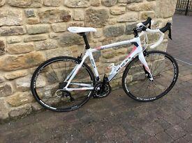 EDDIE MERCKX EFX CL+240 Ladies Road Bike Carbon Fibre Suitable Height Medium Only Riden 100Miles