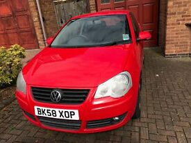 vw polo 1.4 match ( £1700 of recent repairs) family owned from new, 2 lady owners