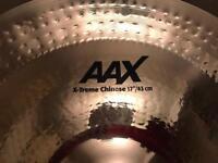 "17"" Sabian aax x-treme Chinese"