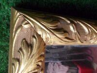 Quality gilt bevelled mirror