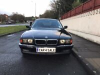 Automatic, classic, BMW 730I, 3.00 litre petrol, 1996 for sale, spares or repairs.