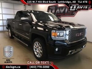 Used 2015 GMC Sierra 1500 Denali-6.2L V8-Heated/Cooled Leather,