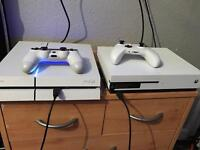 PS4 boxed white