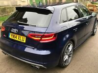 Audi s3 s-tronic sportback (1 owner low miles fully loaded ) px a45 - c63 - 135 facelift - 140i