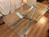 Brand New Glass Dining Table