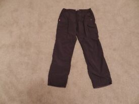 Mens Craghoppers Nosilife walking trousers waist size 36