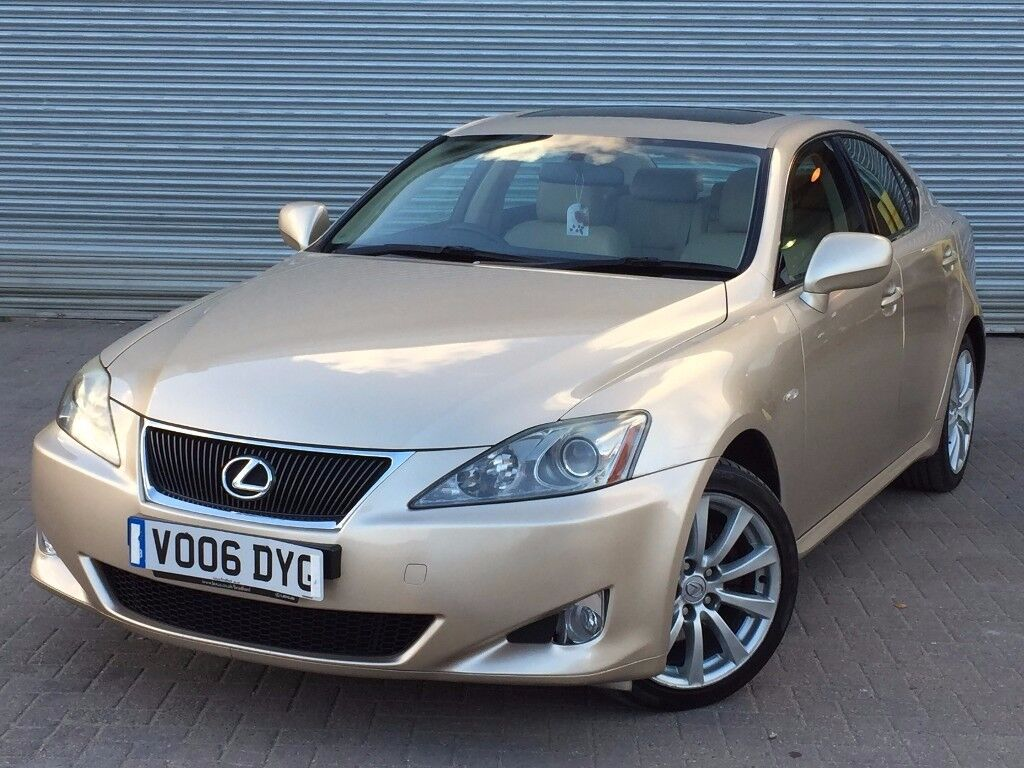 2006 lexus is250 se 2 5 engine 5 doors automatic great spec better colour combo in. Black Bedroom Furniture Sets. Home Design Ideas