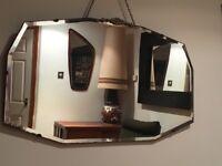 Vintage Retro Art Deco Mirror