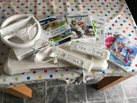 Wii Console/Wii Fit for sale