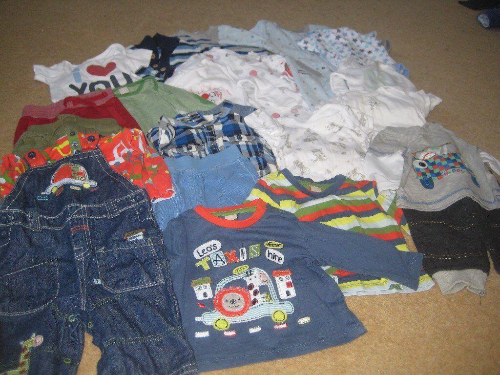 f4cd22c31 Boy s clothes bundle 3-6 months