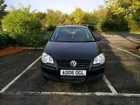 Volkswagen Polo 2006 black 1.2 petrol Spares Repair please read description
