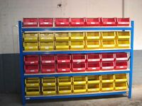 All storage bins / lin bins wanted ( pallet racking , storage )