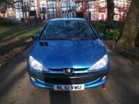 PEUGEOT 206 1.6 110 GLX 5dr [AC] BARGAIN CAR FOR BARGAIN PRICE (blue) 2001