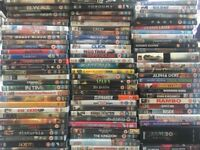 Job lot of 85 DVDs - action, horror, comedy, sci-fi