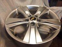 "Captiva 18"" alloy wheel genuine Chevrolet fits Antara Vauxhall Opel GM"