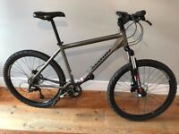 Marin Hawk Hill lightweight Mountain Bike including two extra road tyres