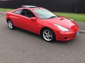 Toyota Celica VVT-I (imola red) 2006
