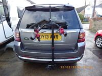 Witter Flange Towbar Mounted Cycle Carrier 3 Bike (with Clamps)