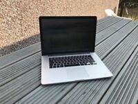 Apple Macbook Pro 15.4 inch 2013, 2.7ghz , 16gb ram, 512 ssd apple customised laptop, REFURBISHED