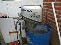 HONDA 8HP OUTBOARD BOAT ENGINE