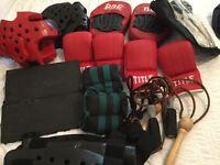 Protective martial arts gear