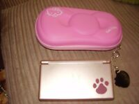 NINTENDO DS LITE RARE NINTENDOGS LIMITED EDITION MINT