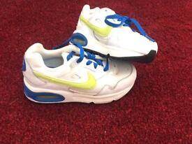 Kids Nike air max trainers