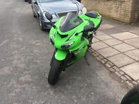 2007 Kawasaki ZX10R. Low mileage. Lovely for summer
