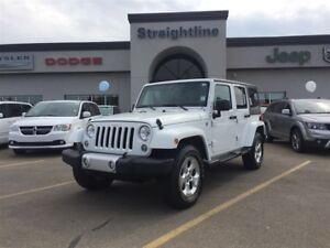 2015 Jeep WRANGLER UNLIMITED Local One Owner, Low km Trade IN!