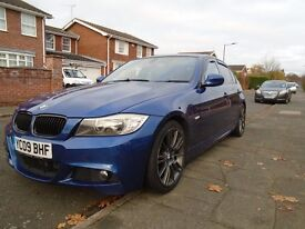 2009 BMW 325D M SPORT AUTOMATIC, LOW MILES, FULL SERVICE HISTORY, DRIVES LIKE NEW, GOOD CONDITION.
