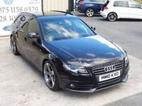 LATE 2010 AUDI A4 AVANT S LINE 170 TDI BLACK EDITION SPEC (FINANCE & WARRANTY AVAILABLE)